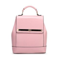Fashion Chic Genuine Leather Stylish High-Quality Backpack 6 Colors