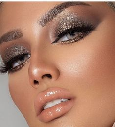 Discovered by marta. Find images and videos on We Heart It - the app to get lost in what you love. Soft Makeup, Smokey Eye Makeup, Cute Makeup, Gorgeous Makeup, Glam Makeup, Pretty Makeup, Beauty Makeup, Hair Makeup, Makeup Trends