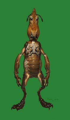 Insect goblin , Jaemin Kim on ArtStation at https://www.artstation.com/artwork/insect-goblin