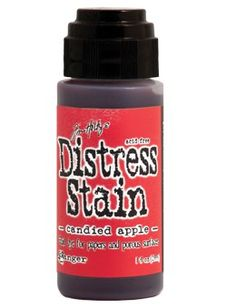 Distress Stains are fluid water-based dyes for papers and other porous surfaces