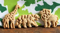 Whole Grain Animal Crackers (Using the WIlliam Sonoma Cookie Cutters I wanted so bad!!)