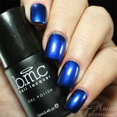 Bundle Monster The New LBD Metallic Gel Polish - must have guide to apply this lovely but pita polish!