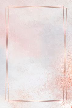 Rectangle Copper Frame On Pastel Background Vector Premium Image By Ningzk V. Pastel Background Wallpapers, Flower Background Wallpaper, Pretty Wallpapers, Frame Background, Pink Glitter Background, Rose Gold Backgrounds, Background Colour, Background Designs, Rose Gold Wallpaper
