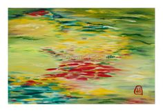Oil and acrylic on canvas by Yi S. Ellis via Artspan