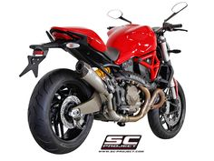 SC Project Ducati Monster 821 Conic Exhaust