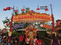 Barnstormer Sign. Walt Disney Company, Playroom Ideas, Magic Kingdom, Walt Disney World, Sign, Logos, Logo, Signs, Board