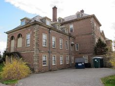 BIG OLD HOUSES: Outside Castle Hill on The Crane Estate in Ipswich Massachusetts - The kitchen and staff wing.  New York Social Diary
