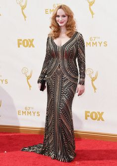 Emmy red carpet ao vivo: veja os looks da cerimônia de 2015 - Vogue | Red carpet