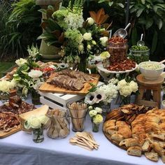 Dan The Man Cooking / Wedding Style Inspiration / LANE Catering Display, Catering Food, Wedding Catering, Catering Ideas, Catering Recipes, Catering Table, Catering Events, Catering Services, Cheese Platters