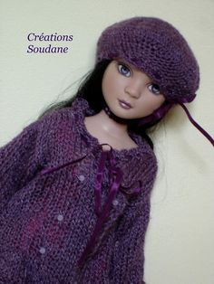 2. English and French Pdf knitting  pattern ONLY DRESS by soudane