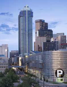 Spire Futuristic Architecture, Contemporary Architecture, Architecture Design, Denver, Skyscraper, Maps, Multi Story Building, Skyline, Architecture Layout