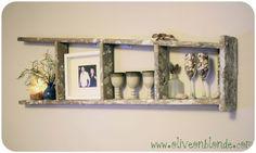 Olive On Blonde.com - Ladder Shelf