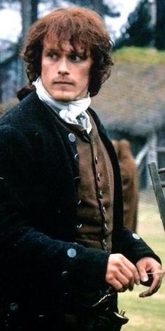 JAMMF!!!! James Fraser Outlander, Outlander Novel, Diana Gabaldon Outlander Series, Outlander Season 1, Outlander Tv Series, Sam Heughan Outlander, Claire Fraser, Jamie Fraser