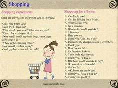 Phrases: Shopping