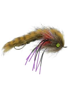 Bass Salmon 4 x Brown Matuka Sculpin Streamer Fly Fishing Flies For Trout