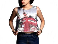 One Direction 1D Crop Top Tank Shirt Cropped Tops by WhatTheShirts, $14.99