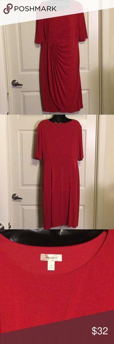 Dressbarn Dress Beautiful red date night dress Dresses Maxi