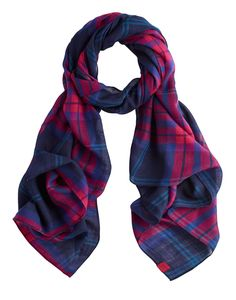 JULIANNE Womens Checked Scarf