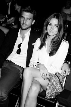 Olivia Palermo and fiance-HOTTEST couple. Can he be more beautiful
