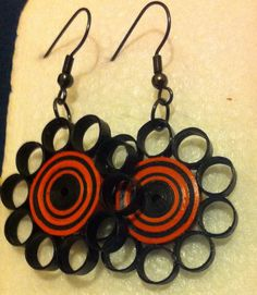 Quilled earrings by Sanja