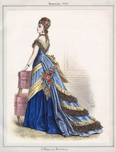 Title:L'Elegance Parisienne  Item Date:November, 1874  Item ID:v. 49, plate 82  Collection:Casey Fashion Plates  Location:Central Library, Rare Books