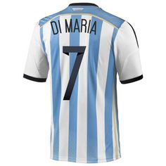 Jersey Argentina Di Maria, Cheap Argentina (7 Di Maria) 2014 World Cup home soccer uniforms Adidas personalized - http://www.snstar.com/argentina-c-45_47