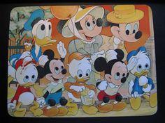 USA Everyone loves a Parade! Old Vintage Walt Disney Postcard 511009...