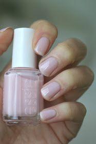 Tying Pink Nail Colors, Pretty Nail Colors, Nail Polish Colors, Pretty Nails, Natural Nail Polish Color, Pale Pink Nails, Pedicure Colors, Bright Nails, Sheer Nail Polish
