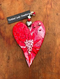 Twisted Heart Wall Hanging