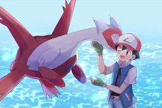 May's Arts……….Ash and Latias! May's Arts……….Ash and Latias! Ash Pokemon, Pokemon Comics, Pokemon Fan Art, Latios Pokemon, Latios And Latias, First Pokemon, Pokemon Stuff, Pokemon Games, Pokemon Cosplay
