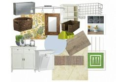 Mood board from The Quaint Cottage blog