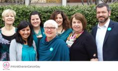 May 8th is World Ovarian Cancer Day, and the Willow Team is wearing their best teal!