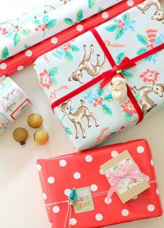 Adorable gift wrapping