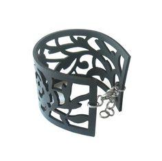 Rosa Sherardii bracelet by Nouseva Myrsky Recyle, Piercings, Lace Bracelet, Rubber Bracelets, Mixed Media Jewelry, Bracelet Designs, Jewelry Branding, Timeless Design, Jewelery