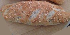 Receita de Pão Fit tipo francês sem glúten e sem lactose