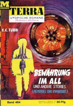 Terra SF 464 Bew�hrung im All   MAN OF WAR E. C. Tubb  Titelbild 1. Auflage:  Johnny Bruck