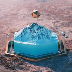 filip hodas' otherworldly landscapes suggest surreal interventions by alien forces