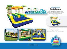 Inflable Acuático Resbaladera Niños y Adultos Costa Rica  http://www.juegosypiruetas.com/#!inflables-acuticos/cahp