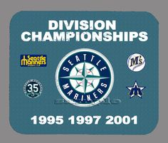 Item#1567 Seattle Mariners Championship Distressed Banner Mouse Pad #SeattleMariners