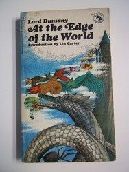 At the Edge of the World by Lord Dunsany Ballantine Books 1970 Vintage Fantasy Paperback