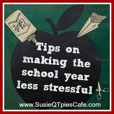 Back to School Tips to Make the School Year Less Stressful