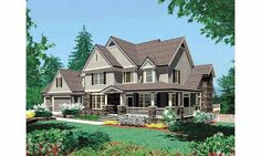 Farmhouse+House+Plan+with+3155+Square+Feet+and+4+Bedrooms+from+Dream+Home+Source+|+House+Plan+Code+DHSW36508