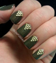 Fall 2013 trend: military green.