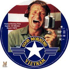 Good Morning Vietnam DVD label by tmscrapbook (REGION 1 CUSTOM)