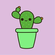 Cute Cactus - Holly