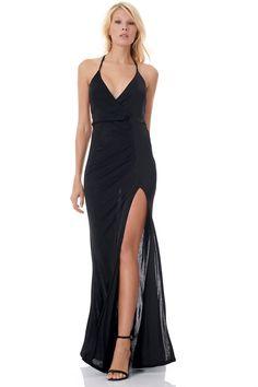 On Line Fashion!!🎆🎆Υπέροχο εξώπλατο maxi φόρεμα με σκίσιμο για db098ee6df1
