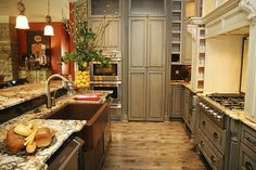 Love the cabinets.