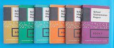 A SET OF 6 VINTAGE 1960s SMP MATHS HARDBACK TEXT BOOKS • £2.00