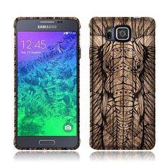 Nextkin Samsung Galaxy Alpha G850 Silicone Skin Soft TPU Gel Protector Cover Case - Elephant Head Aztec Wooden, http://www.amazon.com/dp/B00RW3QO1C/ref=cm_sw_r_pi_awdm_pwOYub0XW39JA