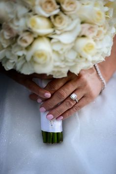 This gorgeous wedding ring and bridal bouquet snapshot had us at hello. Photo: Beth at Disney Fine Art Photography